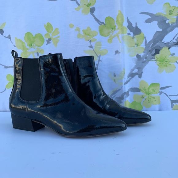 60a0ddad738 Franco sarto Archie 2 Ankle Boots,Black Patent
